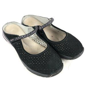 Jambu Memory Foam Women Sz 11M Bailey Black Comfor